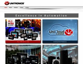 unitronics.com screenshot
