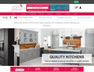 unitsonline.co.uk screenshot