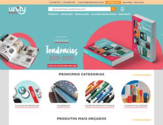 unitybrindes.com.br screenshot