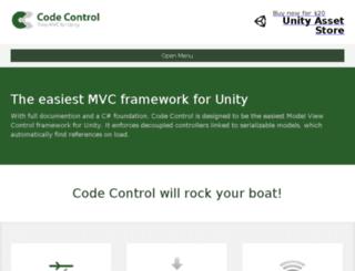 unitycodecontrol.com screenshot