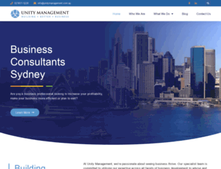 unitymanagement.com.au screenshot