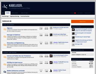 unitymediaforum.de screenshot