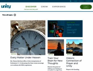 unityonline.org screenshot