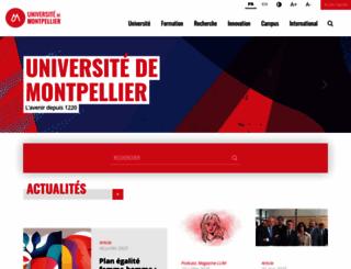 univ-montp1.fr screenshot