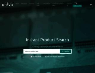 univatech.com screenshot