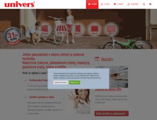 univers.cz screenshot