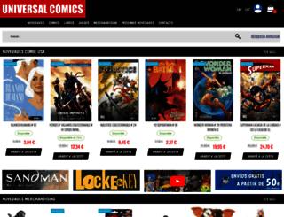 universal-comics.com screenshot