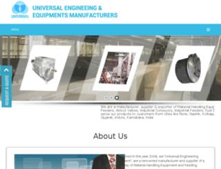 universal-engineering.net screenshot