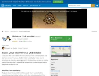 universal-usb-installer.en.softonic.com screenshot