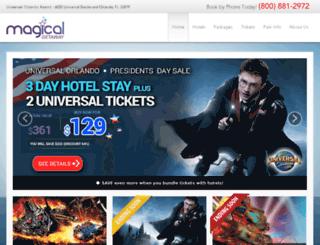 universal.magicalgetaway.com screenshot