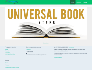 universalbooksrl.com screenshot