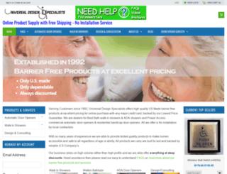 universaldesignspecialists.com screenshot