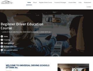 universaldrivers.ca screenshot