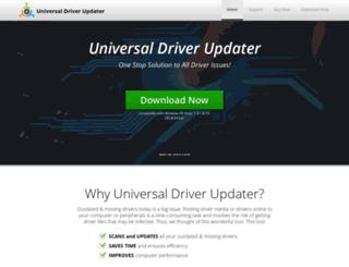 universaldriverupdater.com screenshot
