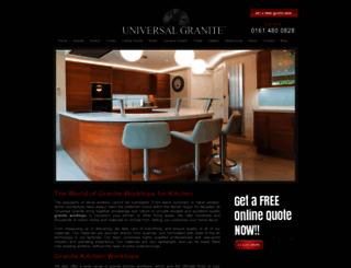 universalgranite.co.uk screenshot