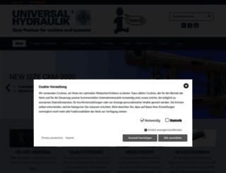 universalhydraulik.com screenshot