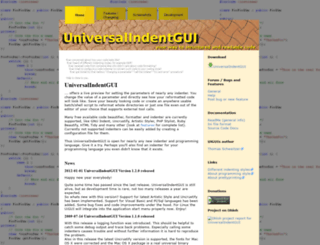 universalindent.sourceforge.net screenshot
