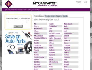 universalmfg.mycarparts.net screenshot