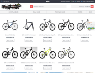universalmountainbike.com screenshot