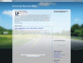 universalrecph.blogspot.nl screenshot