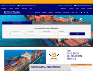 universalrelocations.com screenshot