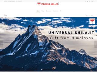 universalshilajit.com screenshot