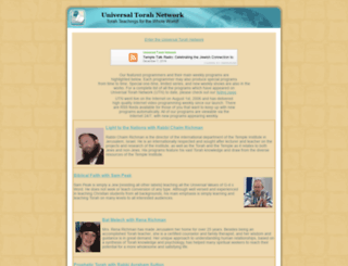 universaltorah.com screenshot