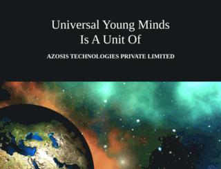 universalyoungminds.com screenshot