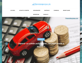 universbateau.fr screenshot