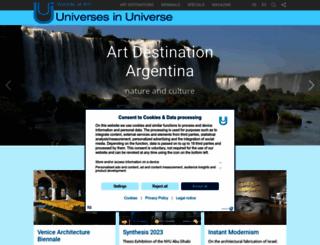 universes-in-universe.org screenshot