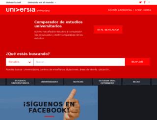 universia.edu.ve screenshot