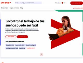 universia.net screenshot
