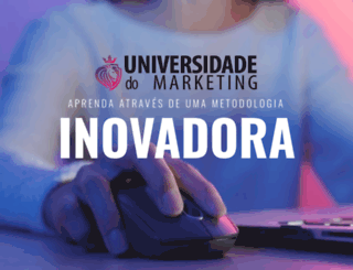 universidadedomarketing.com.br screenshot
