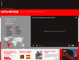 universidades-ibero-americanas.universia.net screenshot