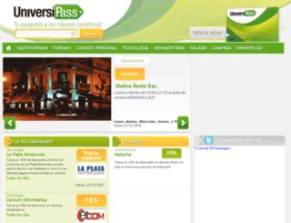 universipass.com.ar screenshot