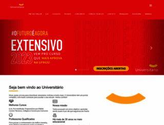 universitario.com.br screenshot