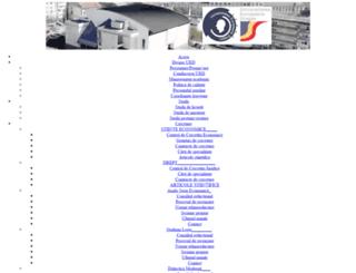 universitateaeuropeanadragan.ro screenshot