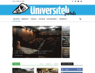 universiteliportali.org screenshot