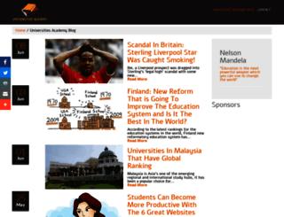 universities.academy screenshot
