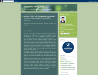 universitimengkarakk.blogspot.com screenshot