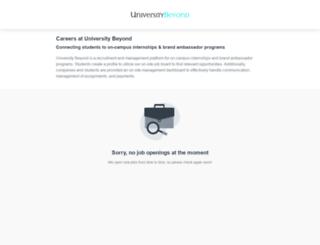 universitybeyond.workable.com screenshot