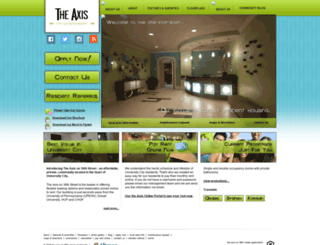 universitycityaxis.com screenshot