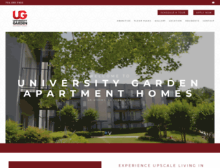 universitygardenapts.com screenshot
