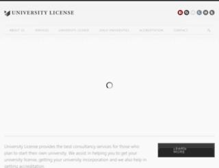 universitylicense.com screenshot