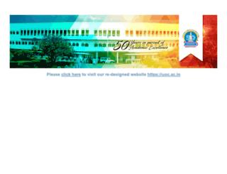 universityofcalicut.info screenshot