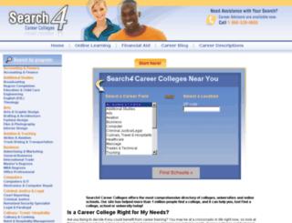 universityofphoenix.search4careercolleges.com screenshot