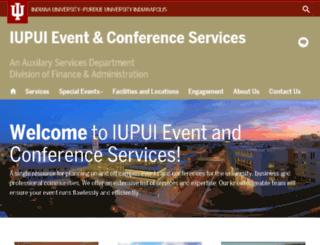 universityplace.iupui.edu screenshot
