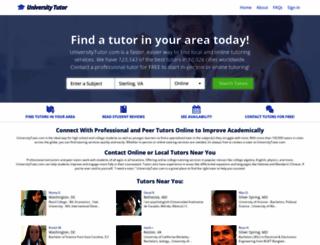 universitytutor.com screenshot
