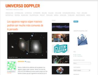 universodoppler.wordpress.com screenshot