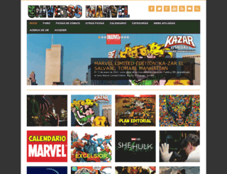 universomarvel.com screenshot